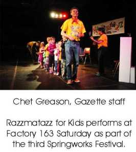 Stratford Gazette - Razzmatazz at Factory 163