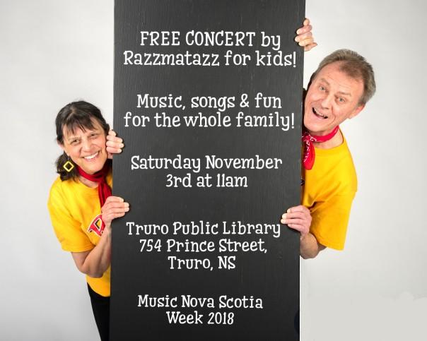 Razzmatazz Music Nova Scotia Poster 2018